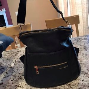 Fawn Design diaper backpack. Black